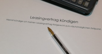 Leasingvertrag kündigen