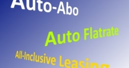 Auto-Abo Auto-Flatrate All-Inclusive-Leasing