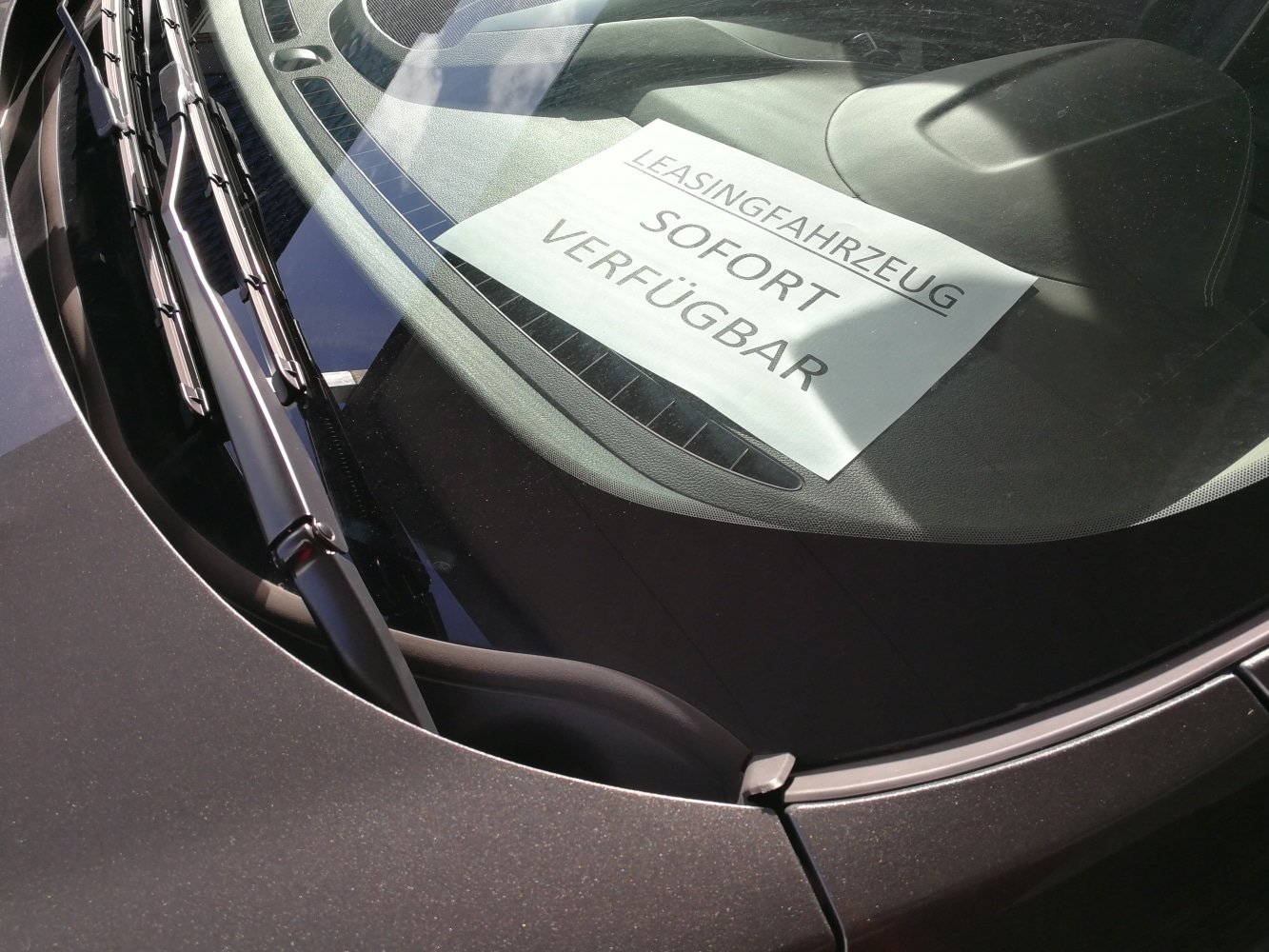 Leasingfahrzeug sofort verfügbar