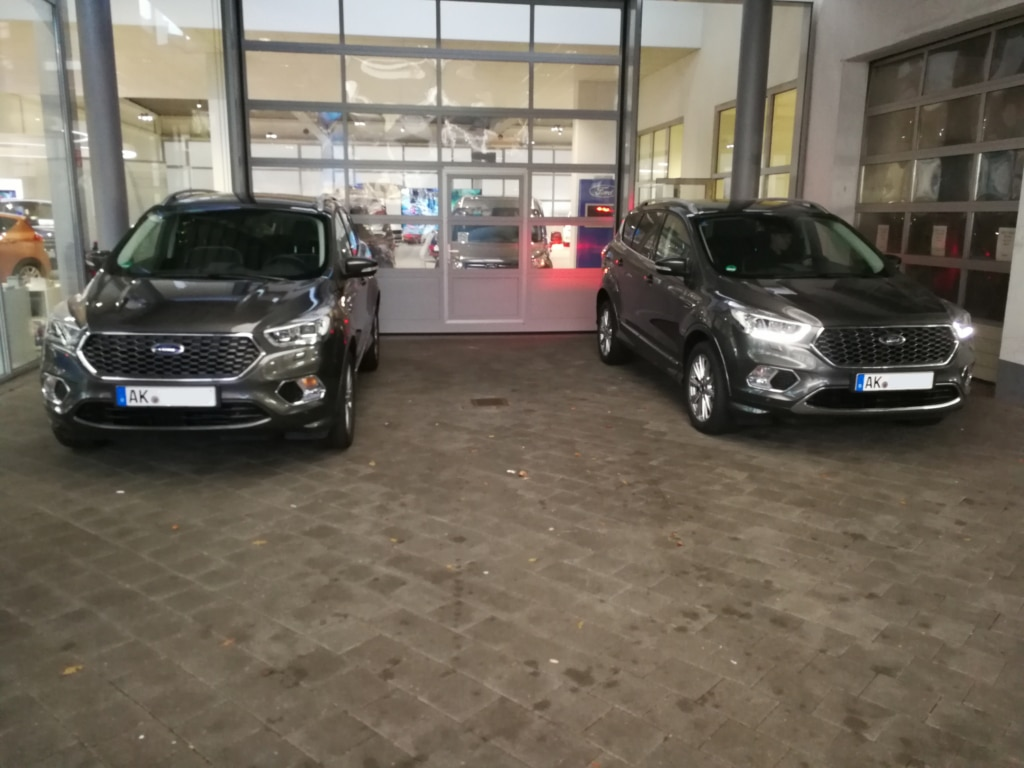 Ford Kuga Abholung Ford Wahl Siegen 16.01.2018